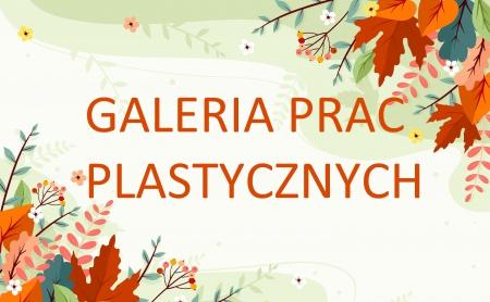 Galeria prac plastycznych, nauczanie zdalne