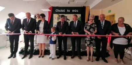 Uroczyste otwarcie nowego budynku SP Tuchom 25.06.2021 r.